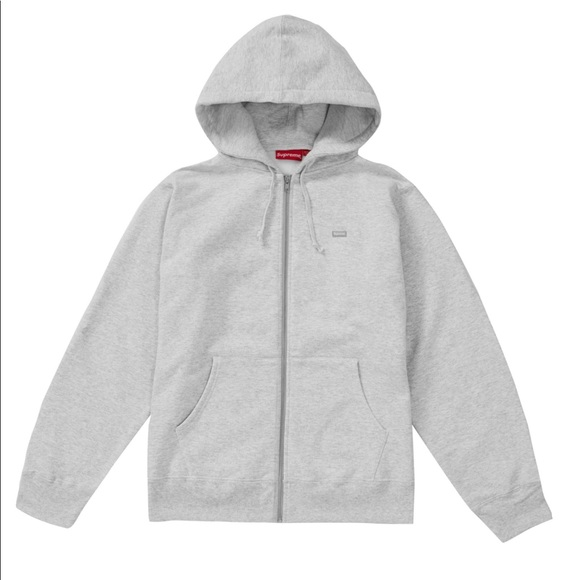 2ad46a4a67dc NWT DS Supreme small box logo zip up